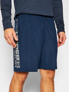 Under Armour Under Armour Pantaloncini sportivi Ua Woven Graphic Wordmark 1320203 Blu scuro Regular Fit