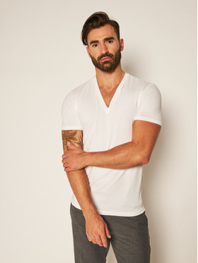 Dsquared2 Underwear Dsquared2 Underwear Σετ 2 T-Shirts DCX450030 Λευκό Slim Fit