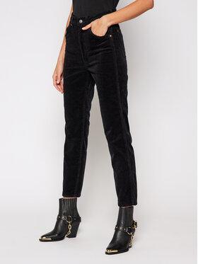 Wrangler Wrangler Pantaloni di tessuto Western W2WZA2100 Nero Regular Fit