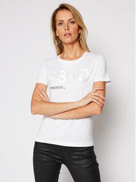 Guess Guess T-Shirt G81 Tee W1RI0B I3Z00 Bílá Slim Fit
