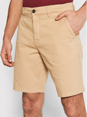 Lyle & Scott Lyle & Scott Pantaloncini di tessuto Chino SH800V Marrone Slim Fit
