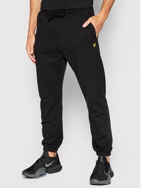Lyle & Scott Lyle & Scott Teplákové kalhoty ML720VOG Černá Regular Fit