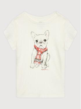 Polo Ralph Lauren Polo Ralph Lauren T-Shirt 311853363001 Weiß Regular Fit