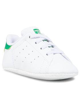 adidas adidas Buty Stan Smith Crib FY7890 Biały