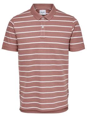 Only & Sons ONLY & SONS Тениска с яка и копчета Cooper 22018949 Розов Regular Fit