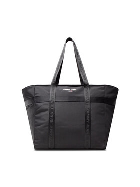 Tommy Jeans Tommy Jeans Geantă Tjw Essential Tote AW0AW10660 Negru