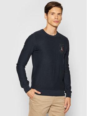 Aeronautica Militare Aeronautica Militare Sweater 212MA1158L282 Sötétkék Regular Fit