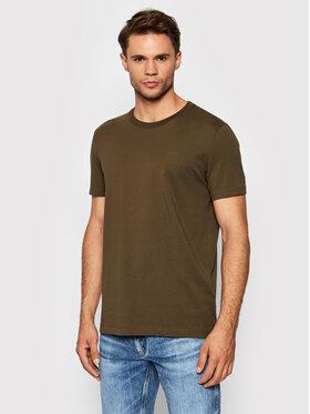 Boss Boss T-Shirt Tiburt 33 50333808 Zielony Regular Fit