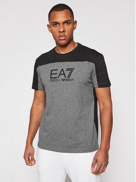 EA7 Emporio Armani EA7 Emporio Armani T-shirt 6HPT52 PJT3Z 3925 Siva Regular Fit