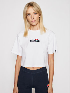 Ellesse Ellesse T-shirt Fireball SGB06838 Blanc Loose Fit
