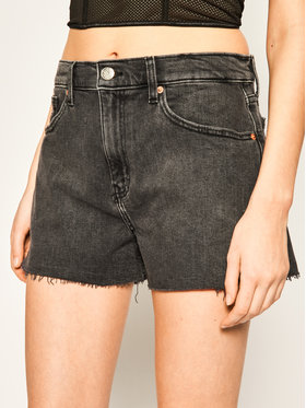 Tommy Jeans Tommy Jeans Szorty jeansowe Denim Hotpants DW0DW08216 Szary Regular Fit