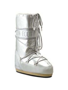 Moon Boot Moon Boot Čizme za snijeg Vinile Met. 14021400002 Srebrna