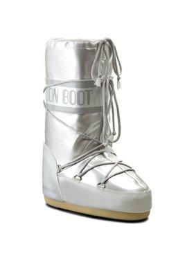 Moon Boot Moon Boot Sněhule Vinile Met. 14021400002 Stříbrná