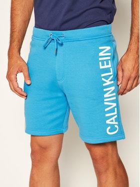 Calvin Klein Jeans Calvin Klein Jeans Szorty sportowe Logo J30J315252 Niebieski Regular Fit