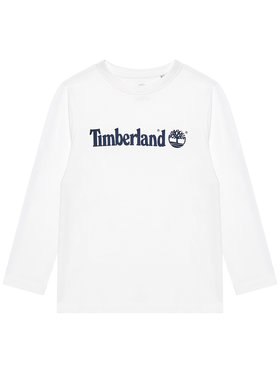 Timberland Timberland Bluzka T25S26 M Biały Regular Fit