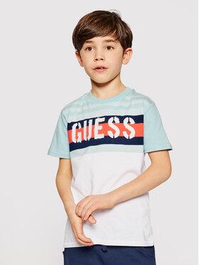 Guess Guess T-Shirt L1GI10 K8HM0 Kolorowy Regular Fit