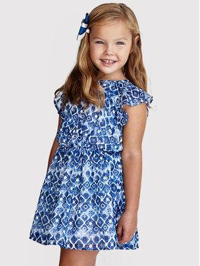 Mayoral Mayoral Kasdieninė suknelė 3937 Mėlyna Regular Fit