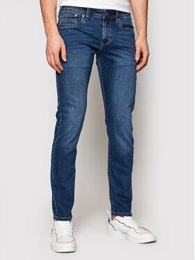 Pepe Jeans Pepe Jeans Дънки Hatch PM200823 Тъмносин Slim Fit