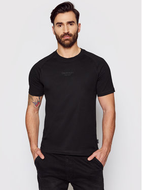 Calvin Klein Calvin Klein T-Shirt Center Logo K10K106498 Černá Regular Fit