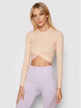 Carpatree Carpatree Techniniai marškinėliai Gaia GLT-P Oranžinė Slim Fit