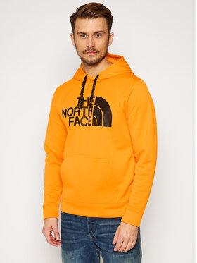 The North Face The North Face Pulóver Surgent NF0A2XL856P1 Sárga Regular Fit