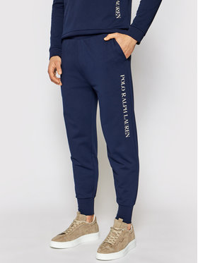 Polo Ralph Lauren Polo Ralph Lauren Teplákové kalhoty Loop Back 714830292002 Tmavomodrá Regular Fit