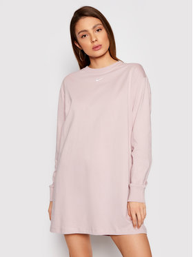 Nike Nike Φόρεμα καθημερινό Nsw Essential CU6509 Ροζ Loose Fit