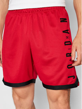 Nike Nike Szorty sportowe Air Jordan Jumpman CZ4760 Czerwony Standard Fit