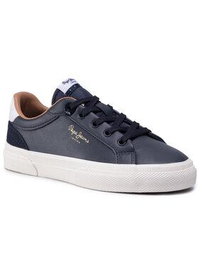 Pepe Jeans Pepe Jeans Sneakersy Kenton Classic Boy PBS30467 Tmavomodrá