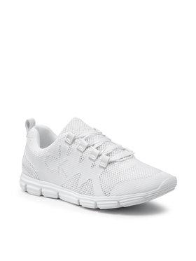 Calvin Klein Jeans Calvin Klein Jeans Sneakersy Runner Sneaker Laceup Scly YM0YM00086 Bílá