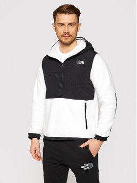The North Face The North Face Анорак Denali NF0A3XAVFN41 Бял Regular Fit