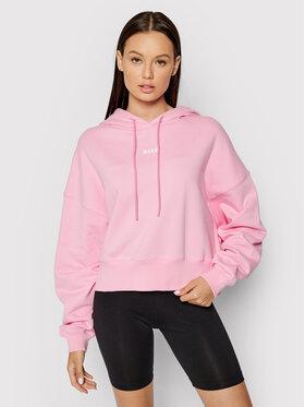 MSGM MSGM Sweatshirt 2000MDM509 200000 Rosa Regular Fit