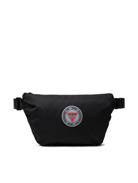 Guess Guess Чанта за кръст Elvis Smart (Nylon) HMEELV P1230 Черен