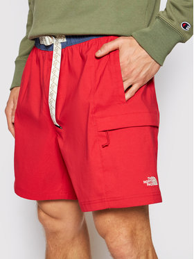 The North Face The North Face Αθλητικό σορτς M Class V Belted NF0A55V8Z1U1 Κόκκινο Regular Fit