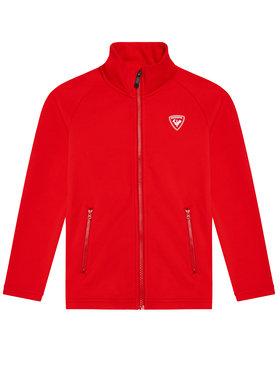 Rossignol Rossignol Technikai pulóver Full Zip RLIYL01 Piros Regular Fit