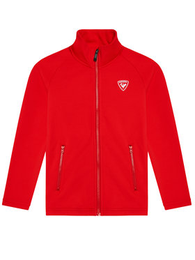 Rossignol Rossignol Techninis džemperis Full Zip RLIYL01 Raudona Regular Fit