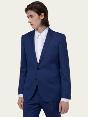 Hugo Hugo Costum Henry/Griffin182 50383613 Bleumarin Slim Fit