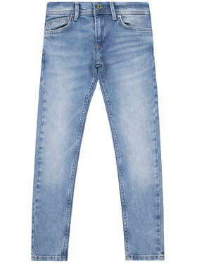 Pepe Jeans Pepe Jeans Blugi Finly PB200527 Albastru Skinny Fit