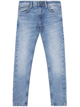 Pepe Jeans Pepe Jeans Blugi Skinny Fit Finly PB200527 Albastru Skinny Fit