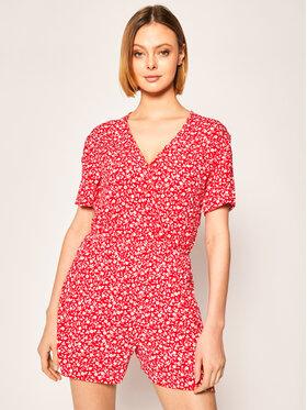 Tommy Jeans Tommy Jeans Combinaison Floral DW0DW07903 Rouge Regular Fit