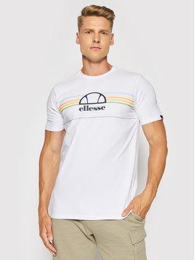 Ellesse Ellesse T-shirt Lentamente Tee SHJ11918 Bianco Regular Fit