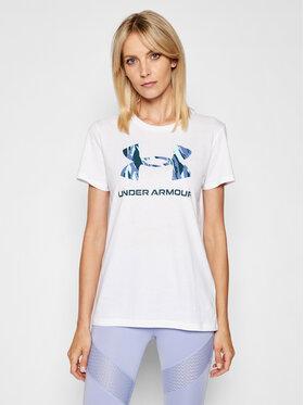 Under Armour Under Armour T-shirt Live Sportstyle Graphic 1356305 Bijela Regular Fit