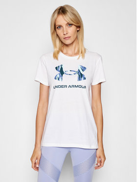 Under Armour Under Armour T-Shirt Live Sportstyle Graphic 1356305 Bílá Regular Fit