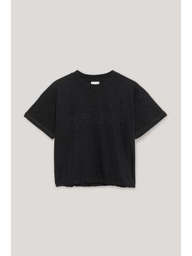 Sprandi Sprandi T-shirt AW21-TSD009 Crna Regular Fit