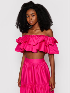 Guess Guess Блуза W1GH0K WDXM0 Розов Regular Fit