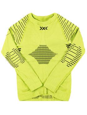 X-Bionic X-Bionic Sous-vêtement thermique haut Invent 4.0 INYT06W19J Vert Slim Fit