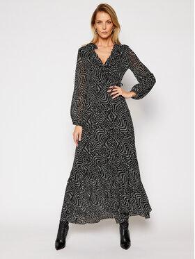 Pinko Pinko Sukienka codzienna Umile 21 BLK01 1G15QY 8421 Czarny Regular Fit