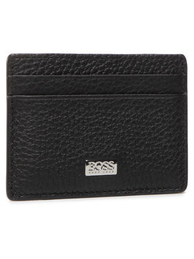 Boss Boss Kreditinių kortelių dėklas Crosstown 50441030 Juoda