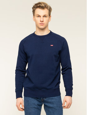 Levi's Levi's Džemperis Icon Crew 56176-0000 Tamsiai mėlyna Regular Fit
