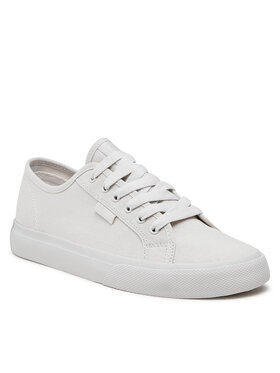 DC DC Πάνινα παπούτσια Manual ADYS300591 Λευκό